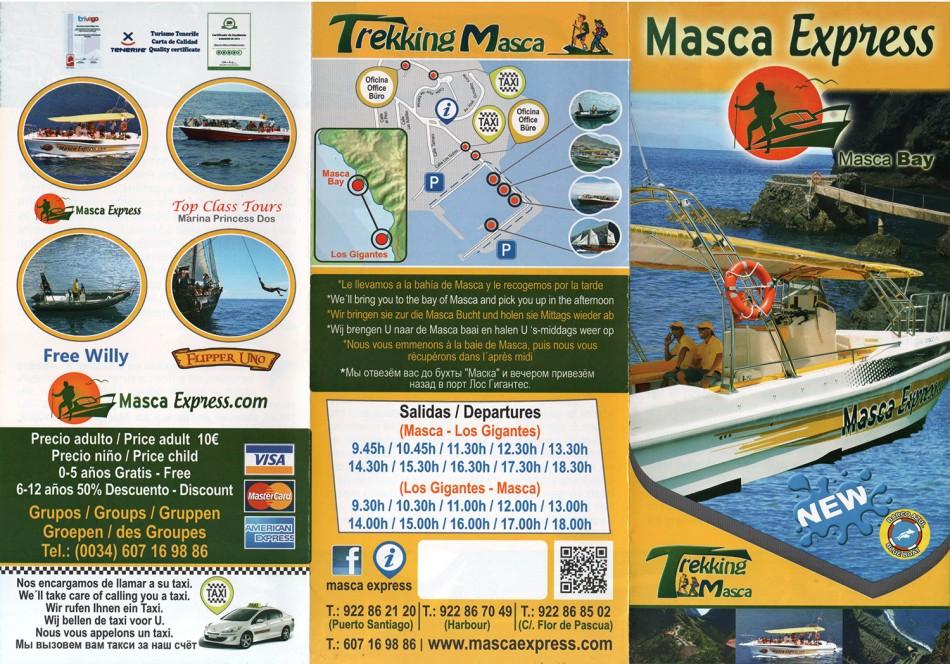 Masca Express - Puerto de Santiago (Los Gigantes)