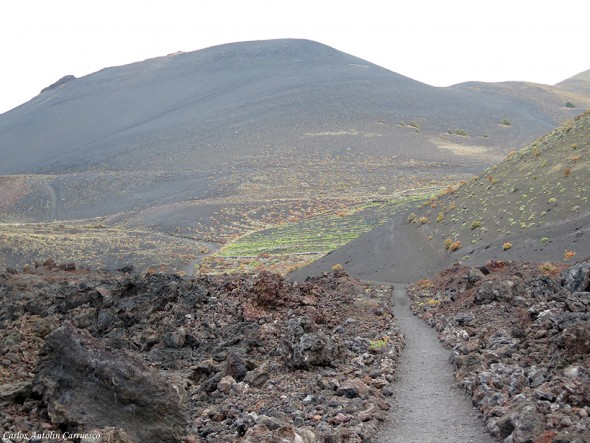 Transvulcania - GR131 - paisaje lunar - La Palma - volcan - san antonio