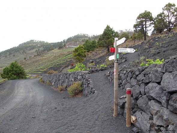 Transvulcania - GR131 - La Palma - Viñedos de Fuencaliente - Los Canarios
