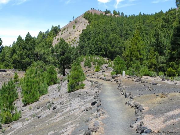 Transvulcania 2015 - GR131 - La Palma - volcán de la deseada