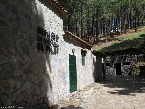 Transvulcania 2015 - GR131 - La Palma - refugio del pilar