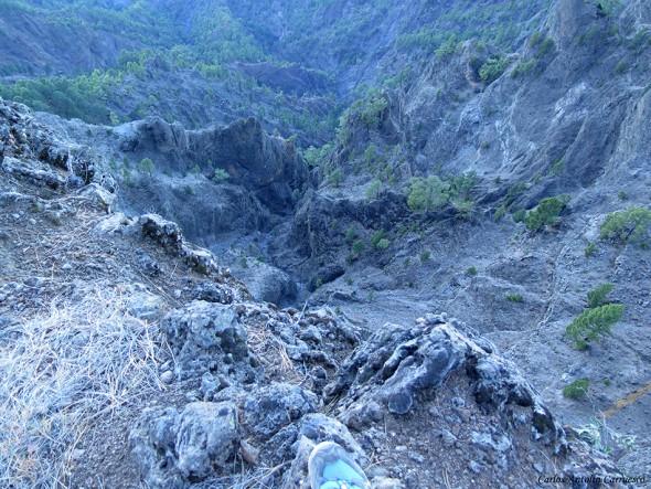 La Crestería - Transvulcania - GR131 - La Palma - caldera de taburiente