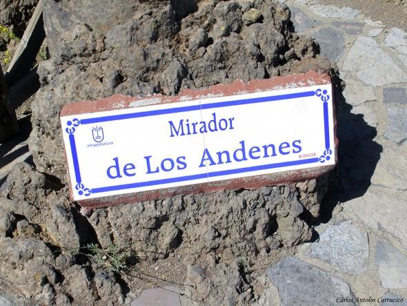 La Crestería - TRANSVULCANIA 2015 - La Palma - mirador de los andenes