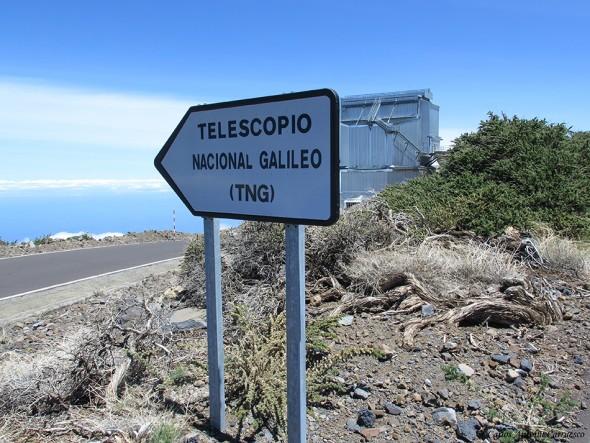 GR131 - Transvulcania 2015 - La Palma - telescopio galileo - tng