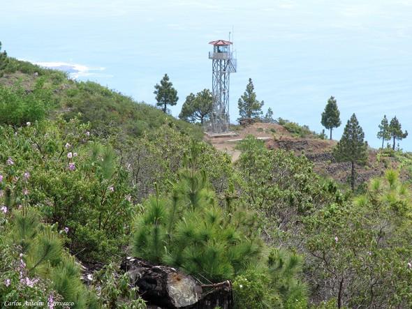 GR131 - Transvulcania 2015 - La Palma - torre del time - time
