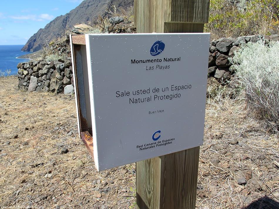 Isora - Las Playas - El Hierro - monumento natural