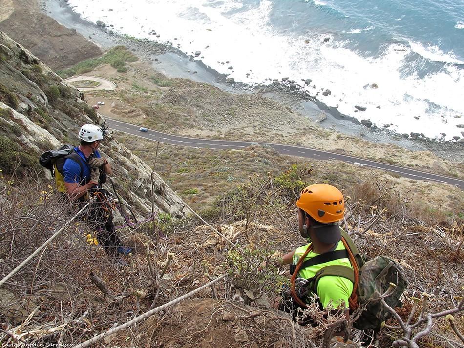 La Caída de Los Dioses - Roque de Las Ánimas - Tenerife
