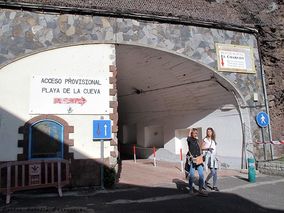 San Sebastián de La Gomera - La Villa - La Gomera - Playa de La Cueva