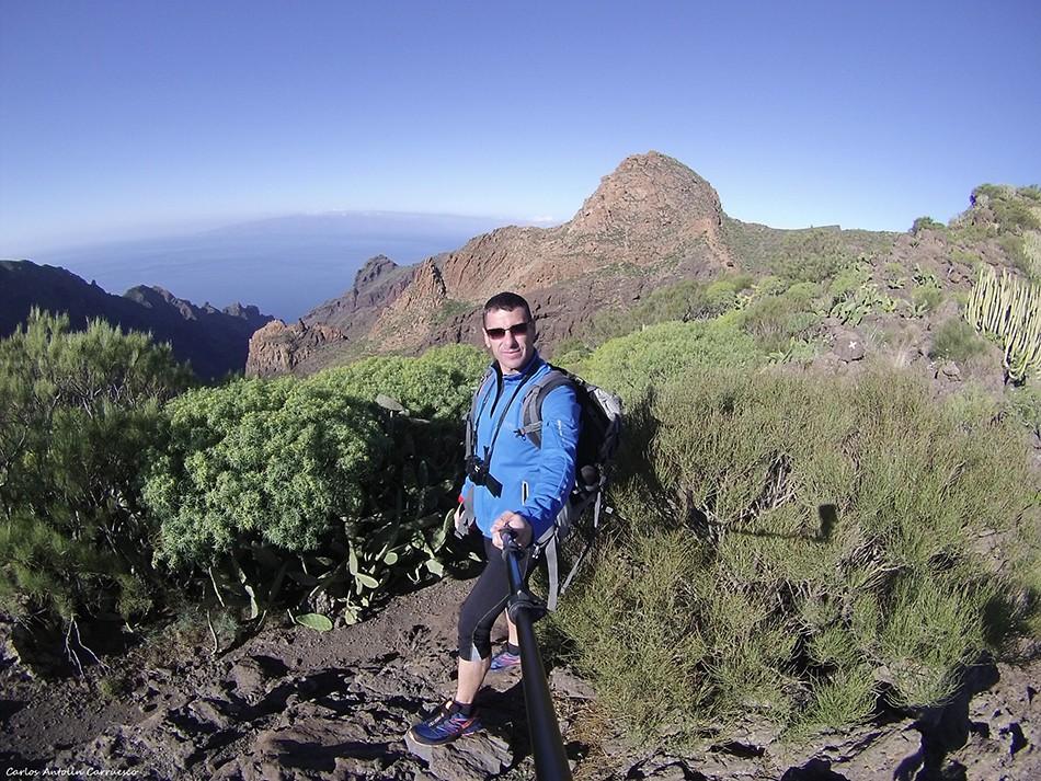 Barranco Seco - Parque Rural de Teno - Tenerife - risco blanco