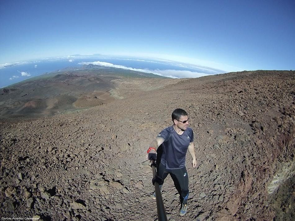 El Calderón - sendero a Pico Sur - Tenerife