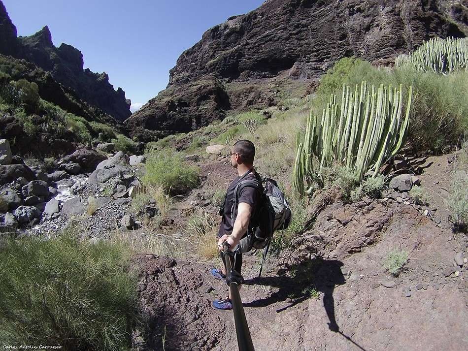Barranco Seco - Parque Rural de Teno - Tenerife