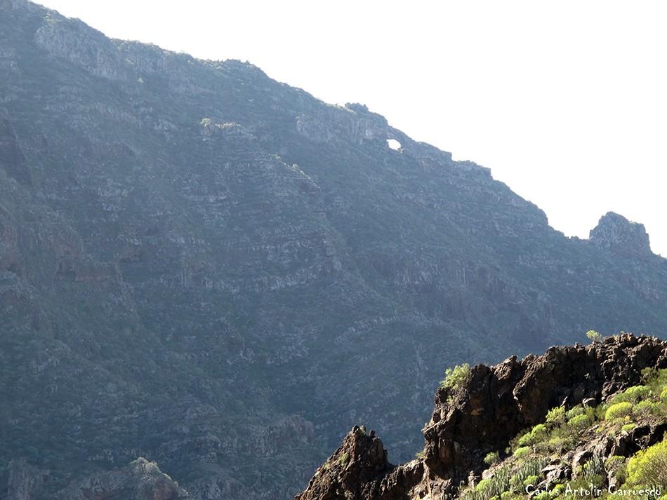 Barranco Seco - Tajea o Atarjea del Sauce - Tenerife - El Bujero
