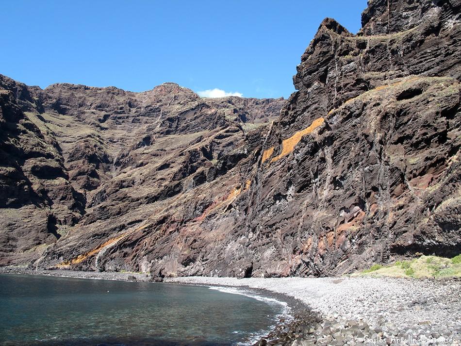 Barranco Seco - Parque Rural de Teno - Playa Seco - Los Gigantes - Tenerife