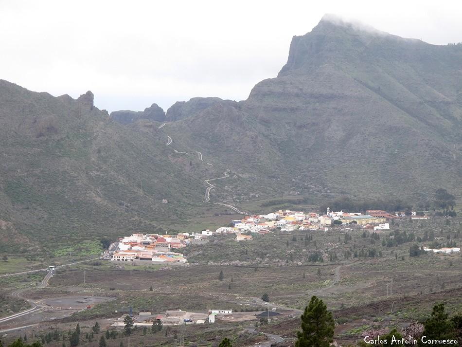 Ruta de Los Almendros - Chinyero - Tenerife - Santiago del Teide - Teno