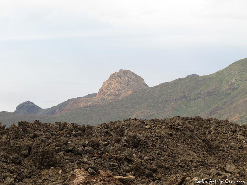 Ruta de los Almendros - Chinyero - Tenerife - risco blanco