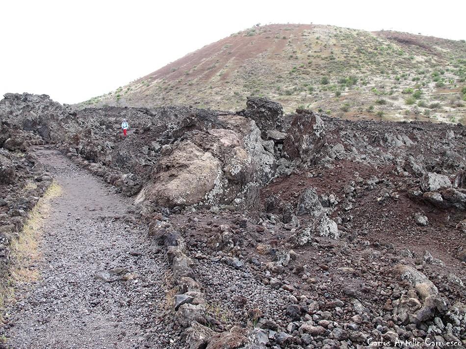 Ruta de los Almendros - Chinyero - Tenerife - Montaña Volcán Bilma