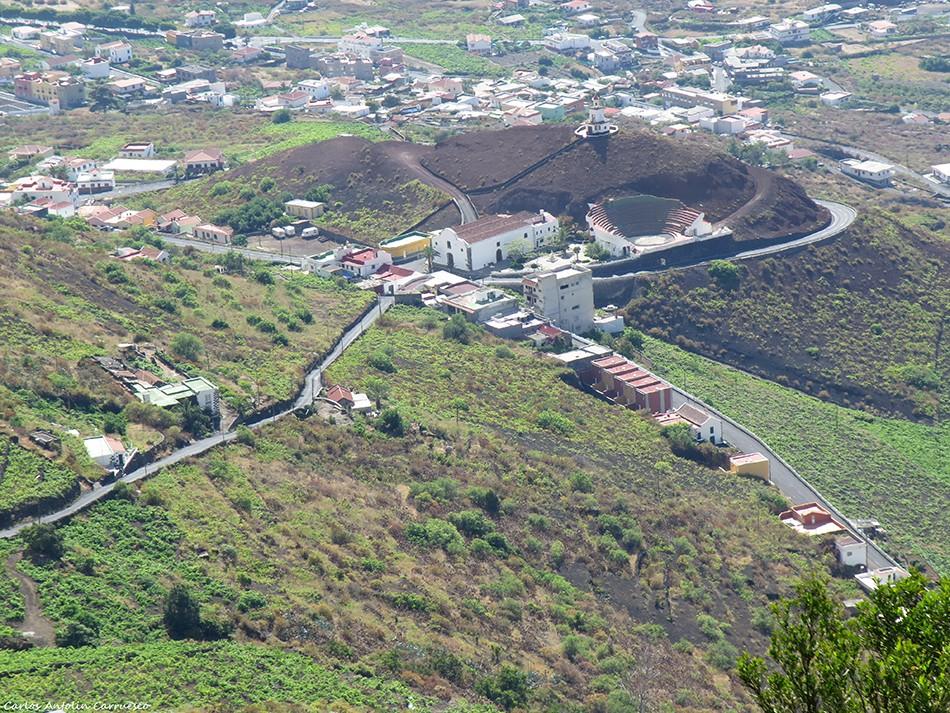 Camino de Jinama - El Hierro - frontera