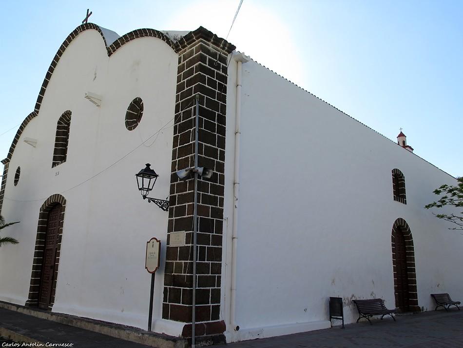 Camino de Jinama - Frontera - El Hierro - Iglesia Nuestra Señora de La Candelaria