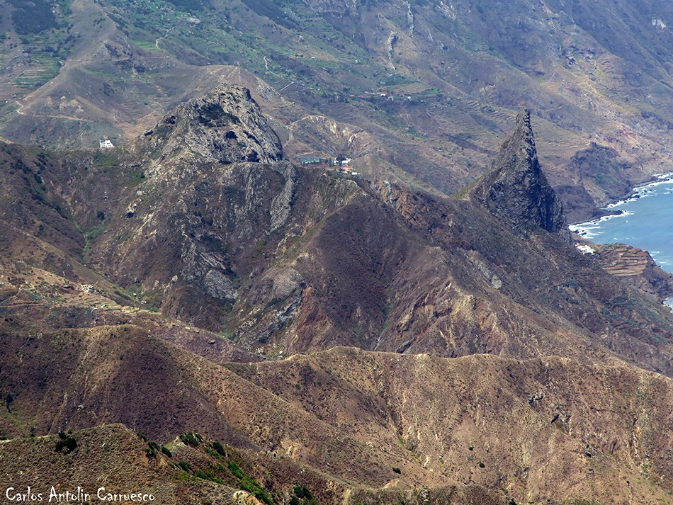Mirador Cabezo del Tejo - Anaga - Tenerife - las ánimas - enmedio - taganana