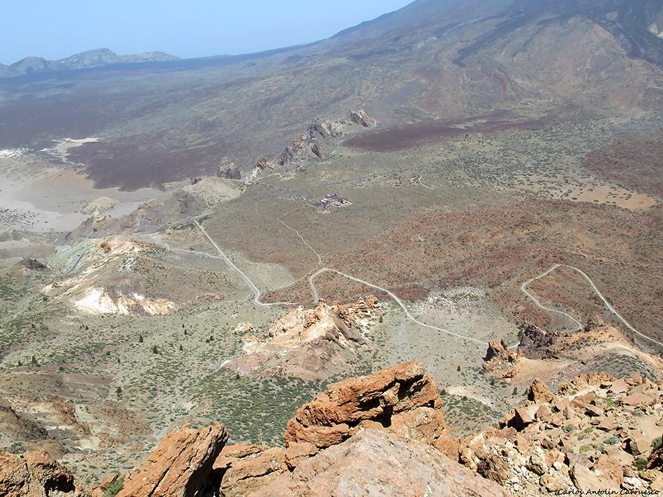 Parque Nacional del Teide - Guajara - Tenerife - Roques de García - Parador Nacional