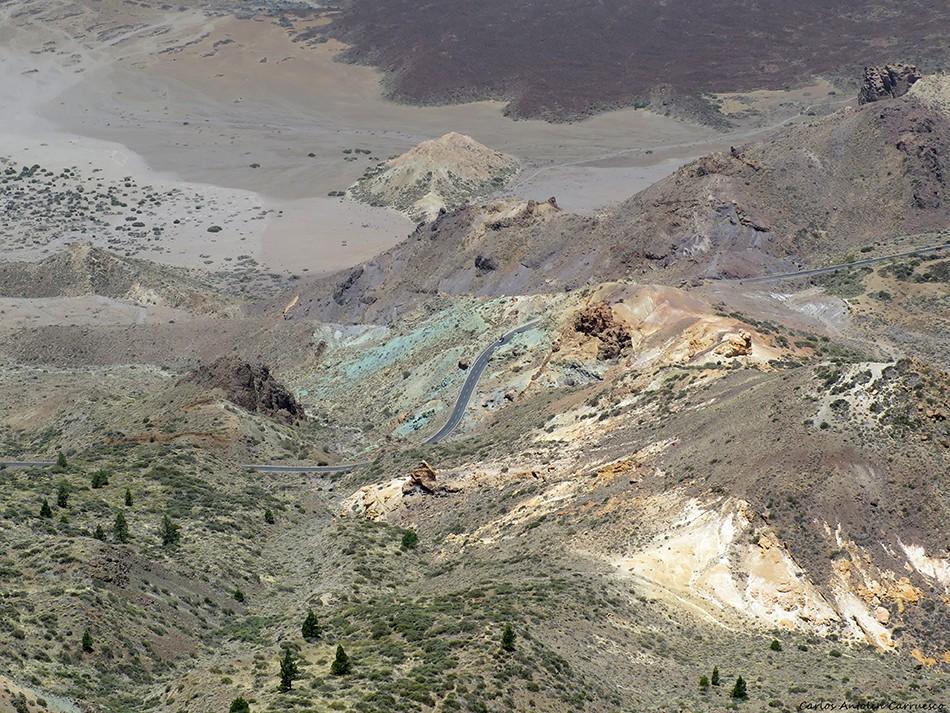 Los Azulejos - Parque Nacional del Teide - Tenerife