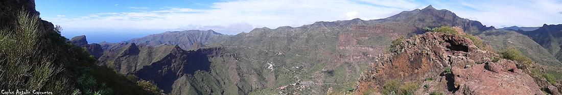 Camino de Guergues - Parque Rural de Teno - Tenerife