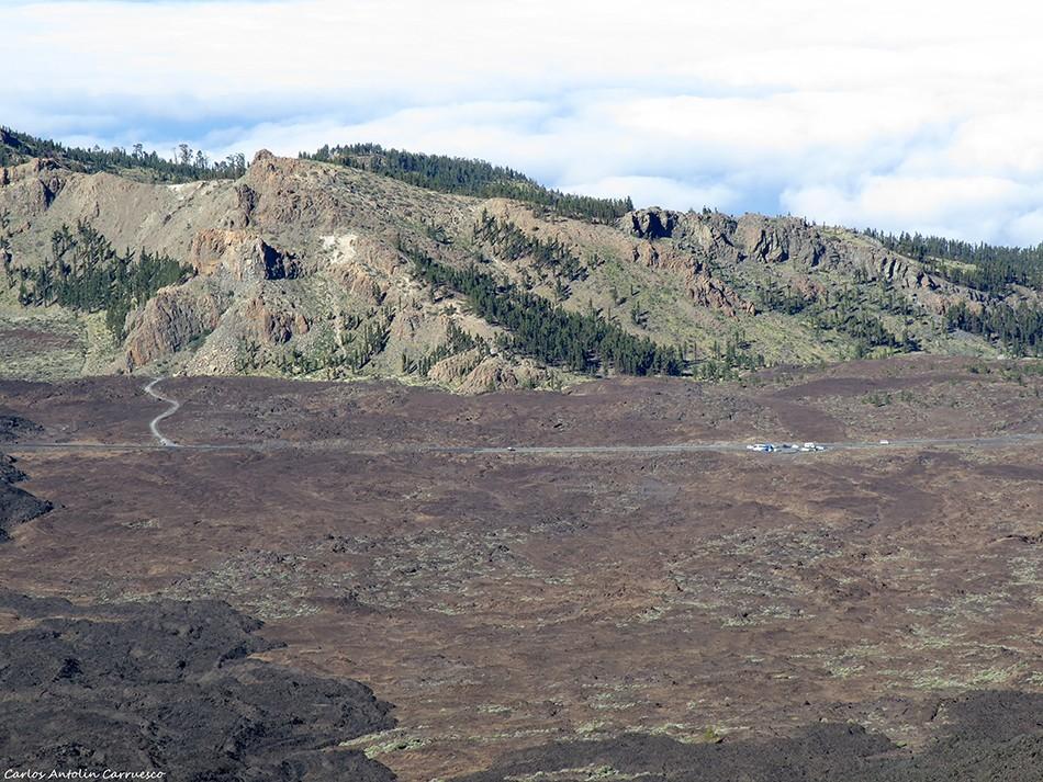 Los Quemados - Parque Nacional del Teide - Tenerife - Mirador de Chío - Roques de Chavao