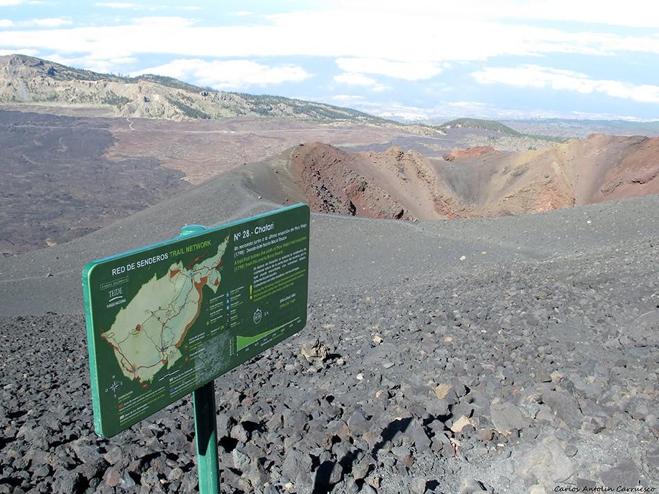 Las Narices del Teide - Parque Nacional del Teide - Tenerife - chafarí