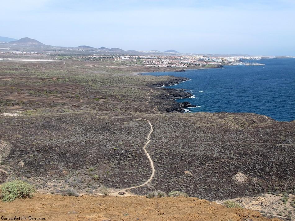 Montaña Amarilla - Tenerife - los abrigos