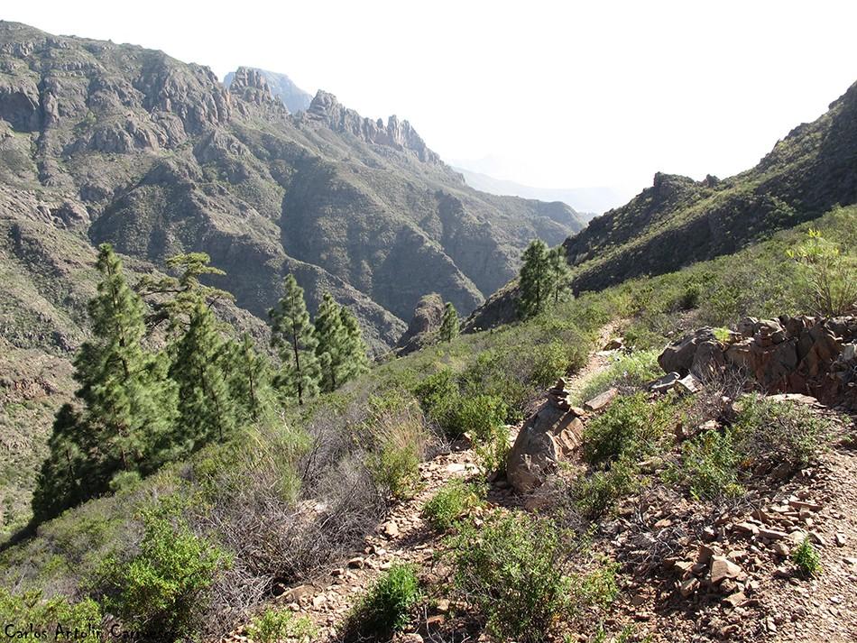 Adeje - Camino de Carrasco - Tenerife - Degollada de Los Frailitos