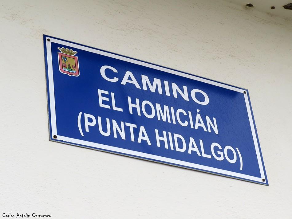 Camino El Homicián - Punta del Hidalgo - Tenerife
