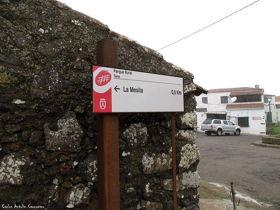 Los Bailaderos - Teno Alto - Tenerife