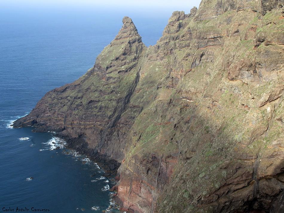 La Veta de Los Guirres - Anaga - Tenerife - pachila - picacho de magin