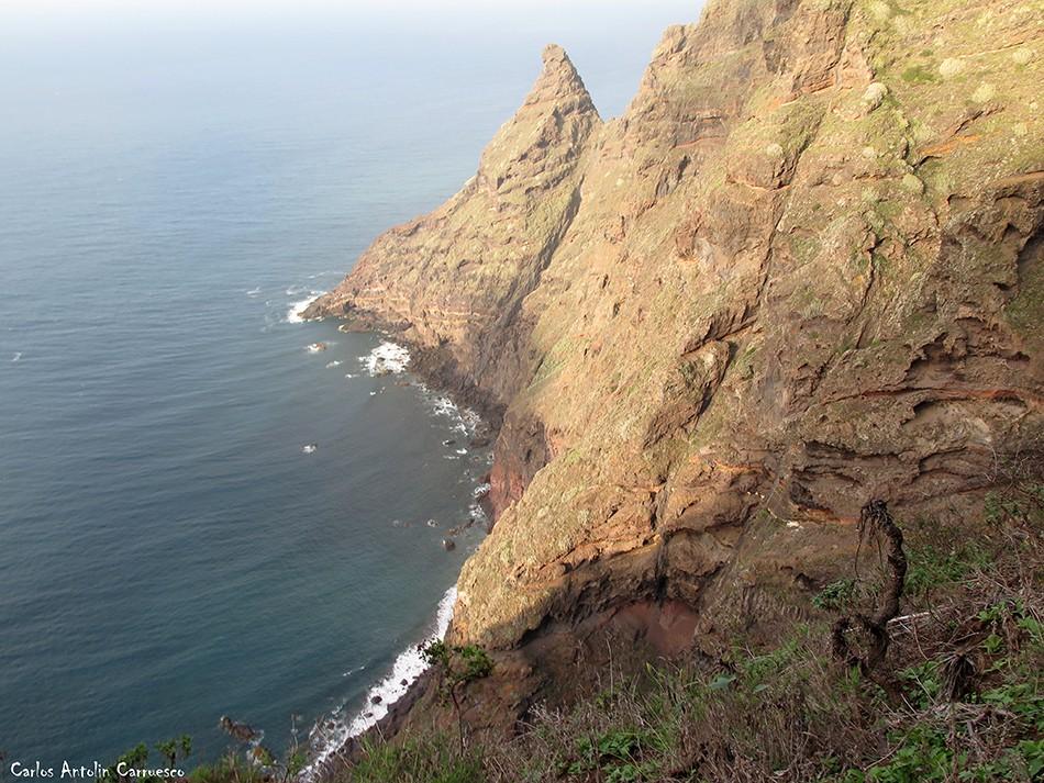 La Veta de Los Guirres - Anaga - Tenerife - picacho de magín