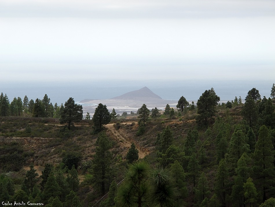 Las Vegas - Granadilla de Abona - Tenerife - el médano - montaña roja