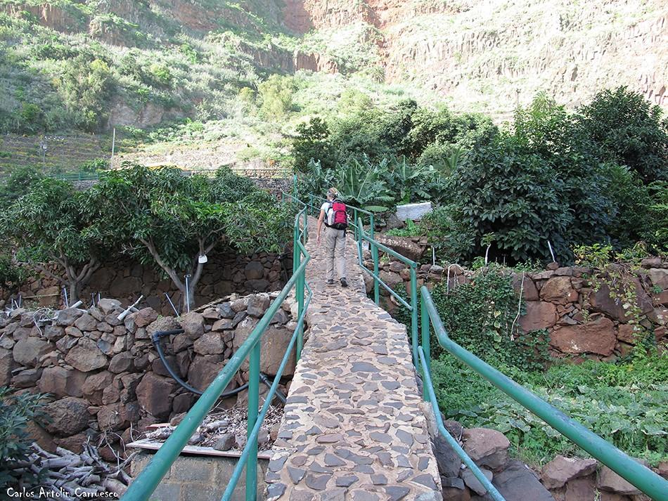 Sendero camino de Los Pasos - Agulo - La Gomera
