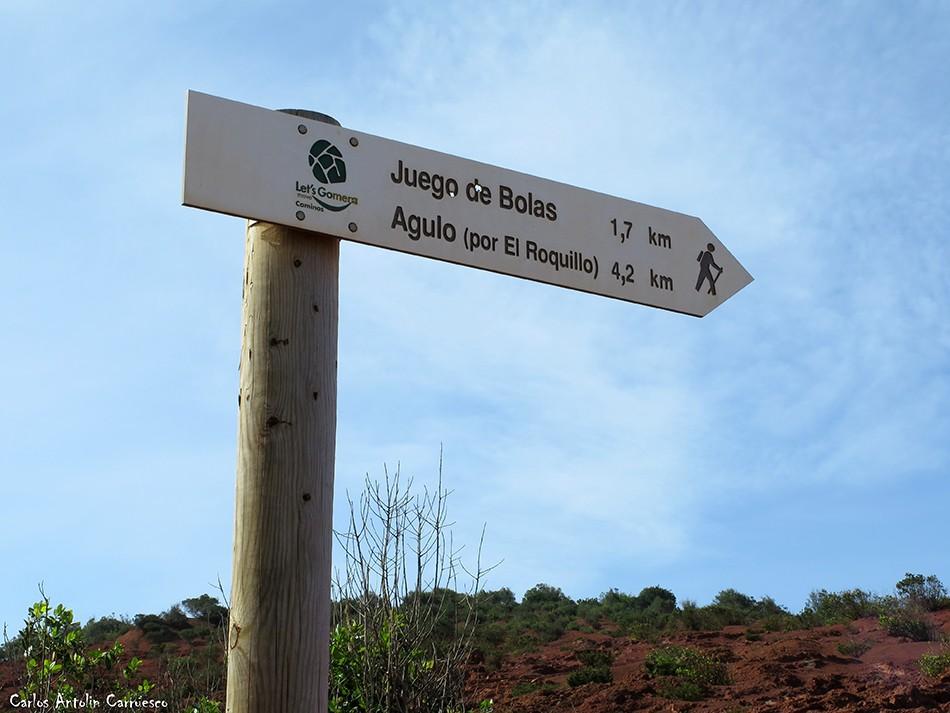 Juego de Bolas - Agulo (por El Roquillo) - La Gomera
