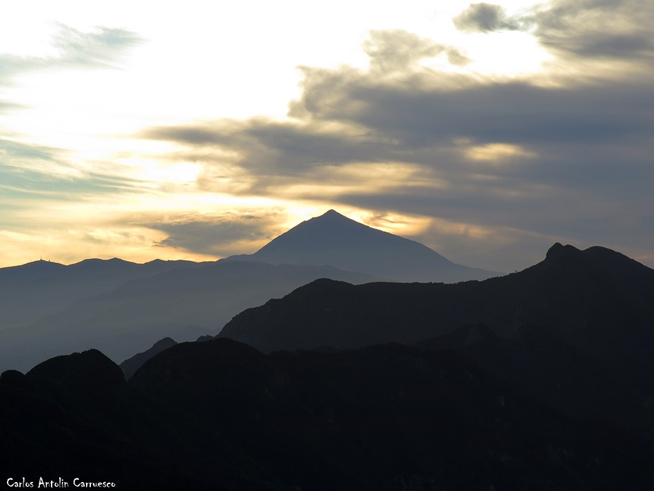 Cabezo del Tejo - Anaga - Tenerife - Teide