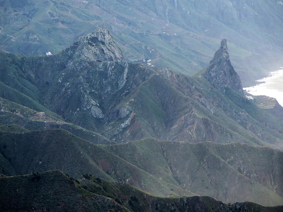 Roques de Enmedio y Las Ánimas - Anaga - Tenerife