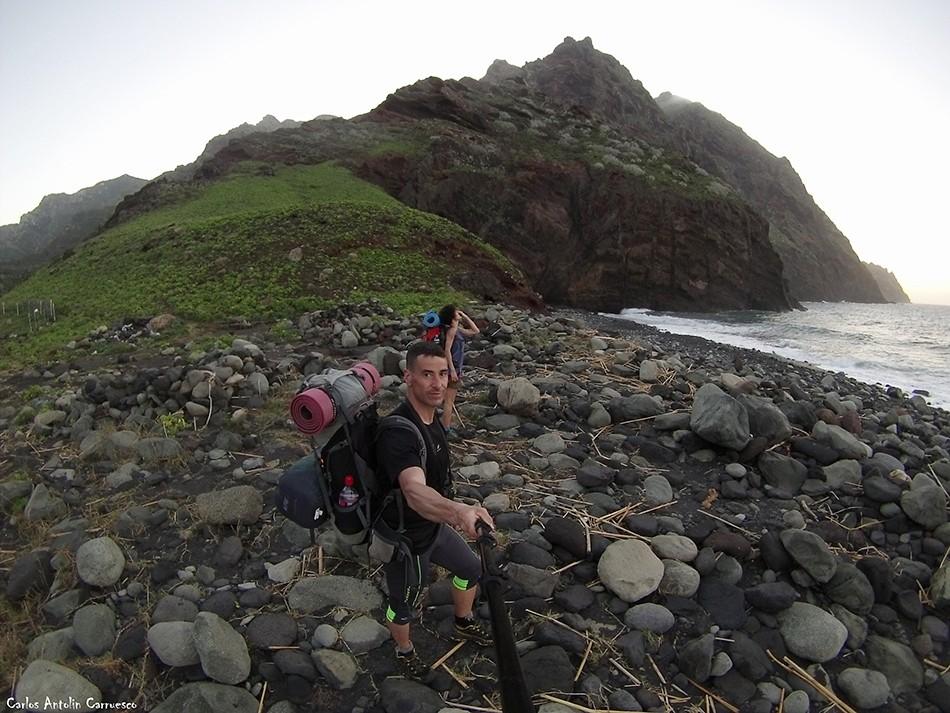 Playa de Tamadiste - Barranco de Afur - Parque Rural de Anaga - Tenerife