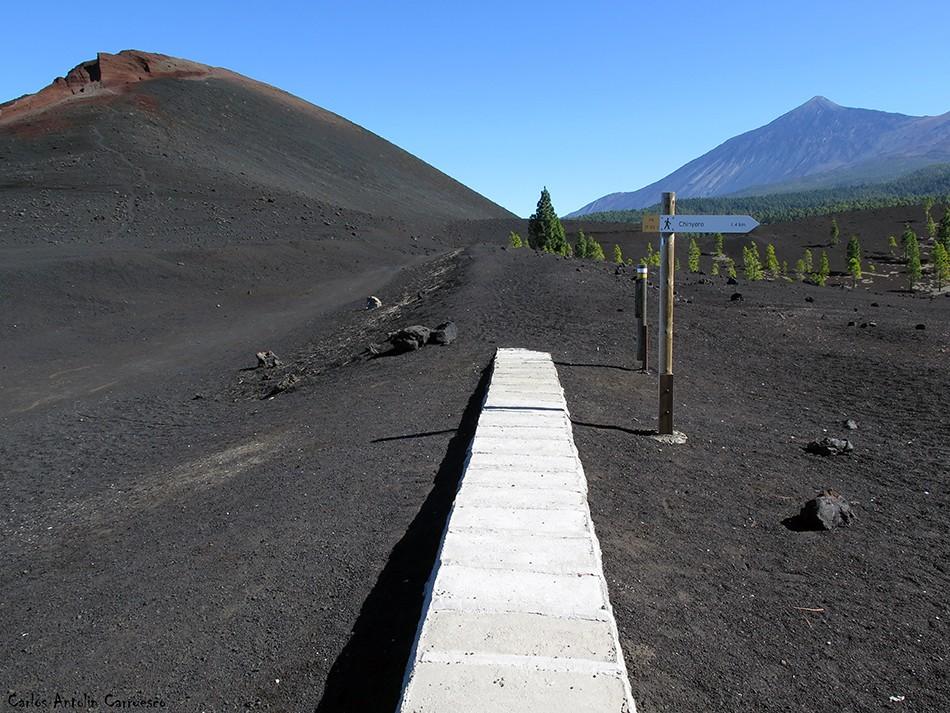 Volcán de Garachico - Tenerife - Teide - canal de Vergara