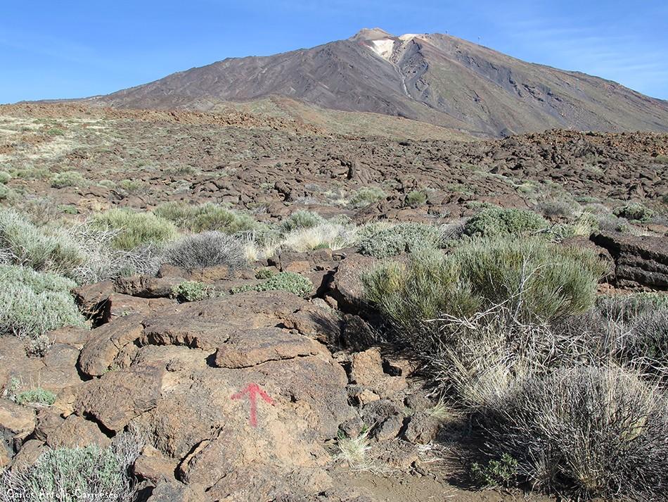 Regatones Negros - Ultra Bluetrail - Tenerife - Parque Nacional del Teide - Pico del Teide - grafiti