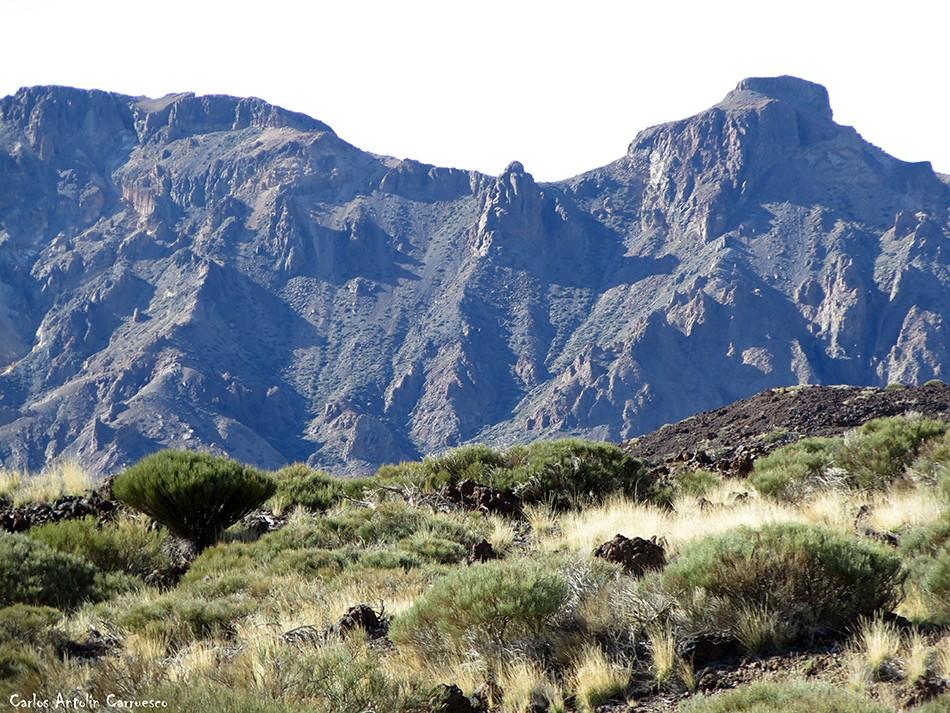 Regatones Negros - Ultra Bluetrail - Tenerife - Parque Nacional del Teide - sendero Nº 23 - el sombrero - cumbres de ucanca