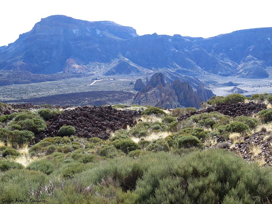 Regatones Negros - Ultra Bluetrail - Tenerife - Parque Nacional del Teide - sendero Nº 23 - el guajara