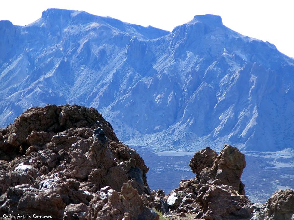 Regatones Negros - Ultra Bluetrail - Tenerife - Parque Nacional del Teide - sendero Nº 23 - cumbres de ucanca - el sombrero