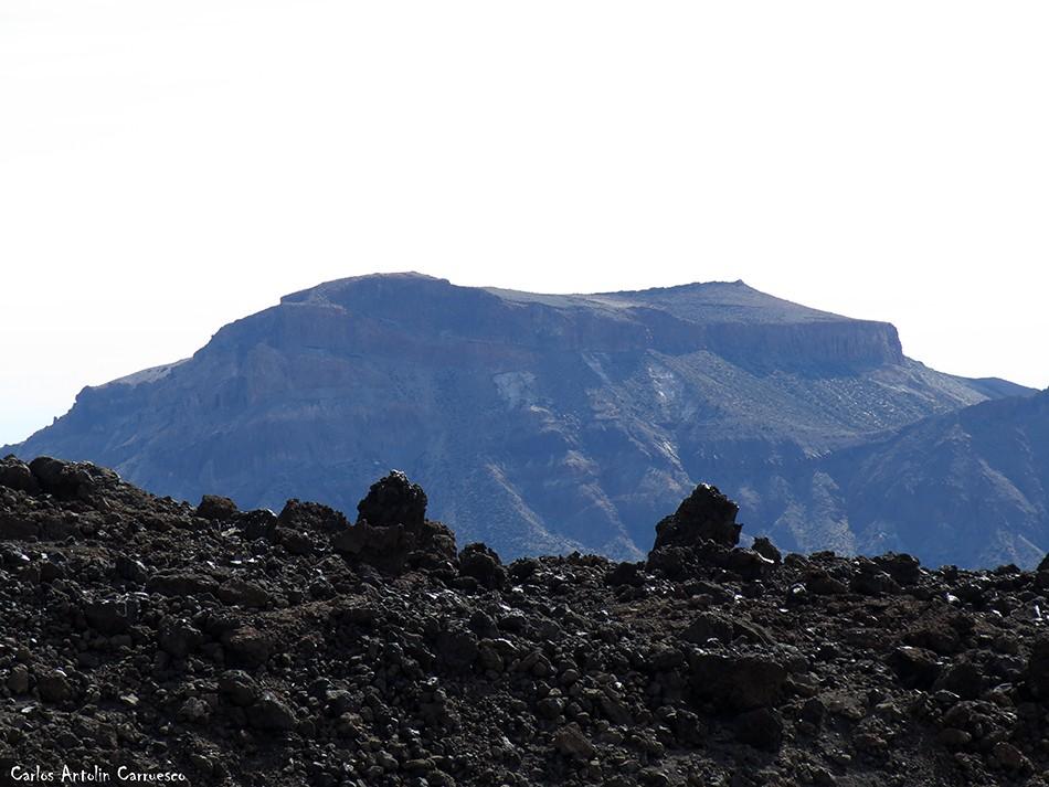 Regatones Negros - Ultra Bluetrail - Tenerife - Parque Nacional del Teide - sendero Nº 23 - guajara