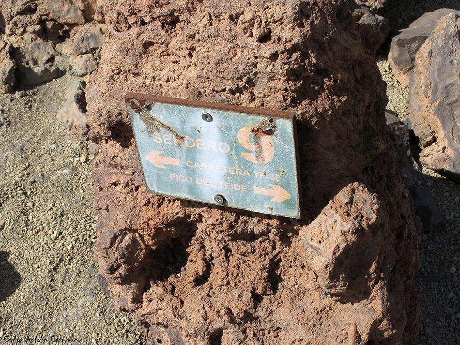 Conectamos con el sendero Nº9 - P.N. del Teide - Tenerife