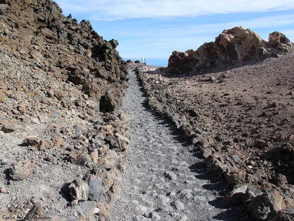 Parque Nacional del Teide - Tenerife - sendero Nº11