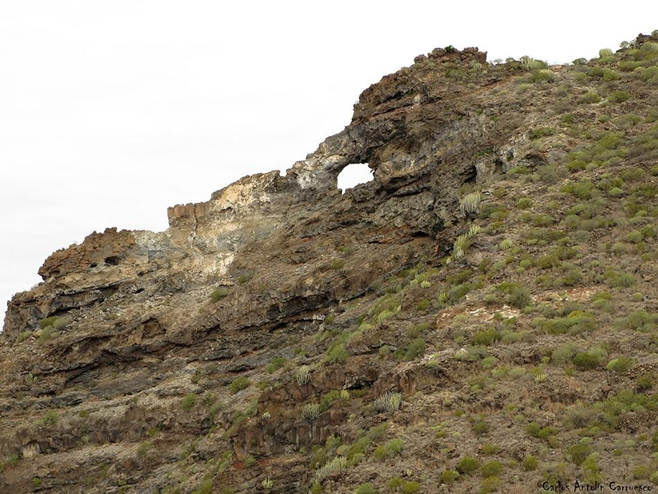 Los Gigantes - Teno - Tenerife - El Bujero
