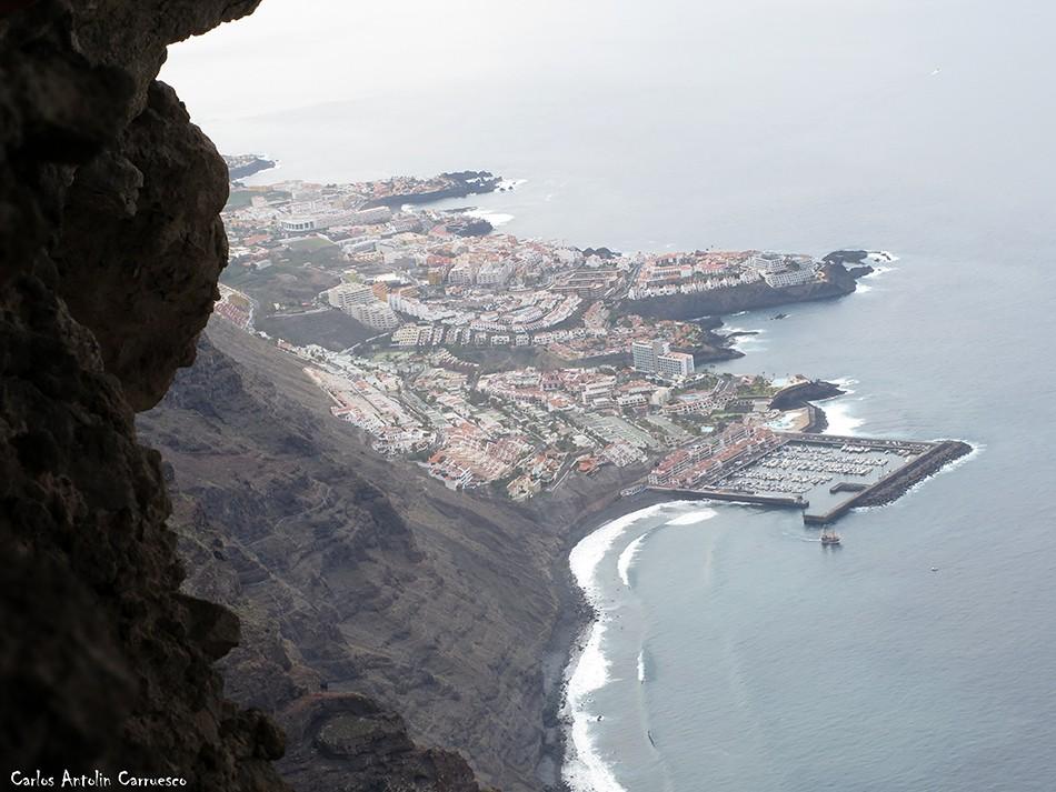 El Bujero - Teno - Los Gigantes - Puerto de Santiago - Tenerife